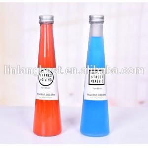 350ml / 500m / 750ml stikla dzērienu pudeles vairumtirdzniecības / tukšās sulas pudeles vairumtirdzniecība