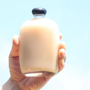 Best Selling Custom Small Popular Milk teaJuice Bottle 100ml 250ml 3oz Juice Beverage Glass