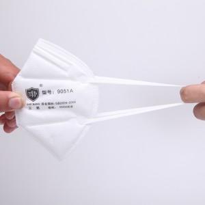 Lin lang Shanghai Cheap Non-woven KN95 N95 FFP2 Face Mask Disposable Earloop In Stock
