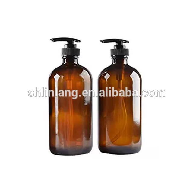 Import glass bottle with pump sprayer 5ml 10ml 15ml 20ml 25ml 30ml skin care use glass bottle