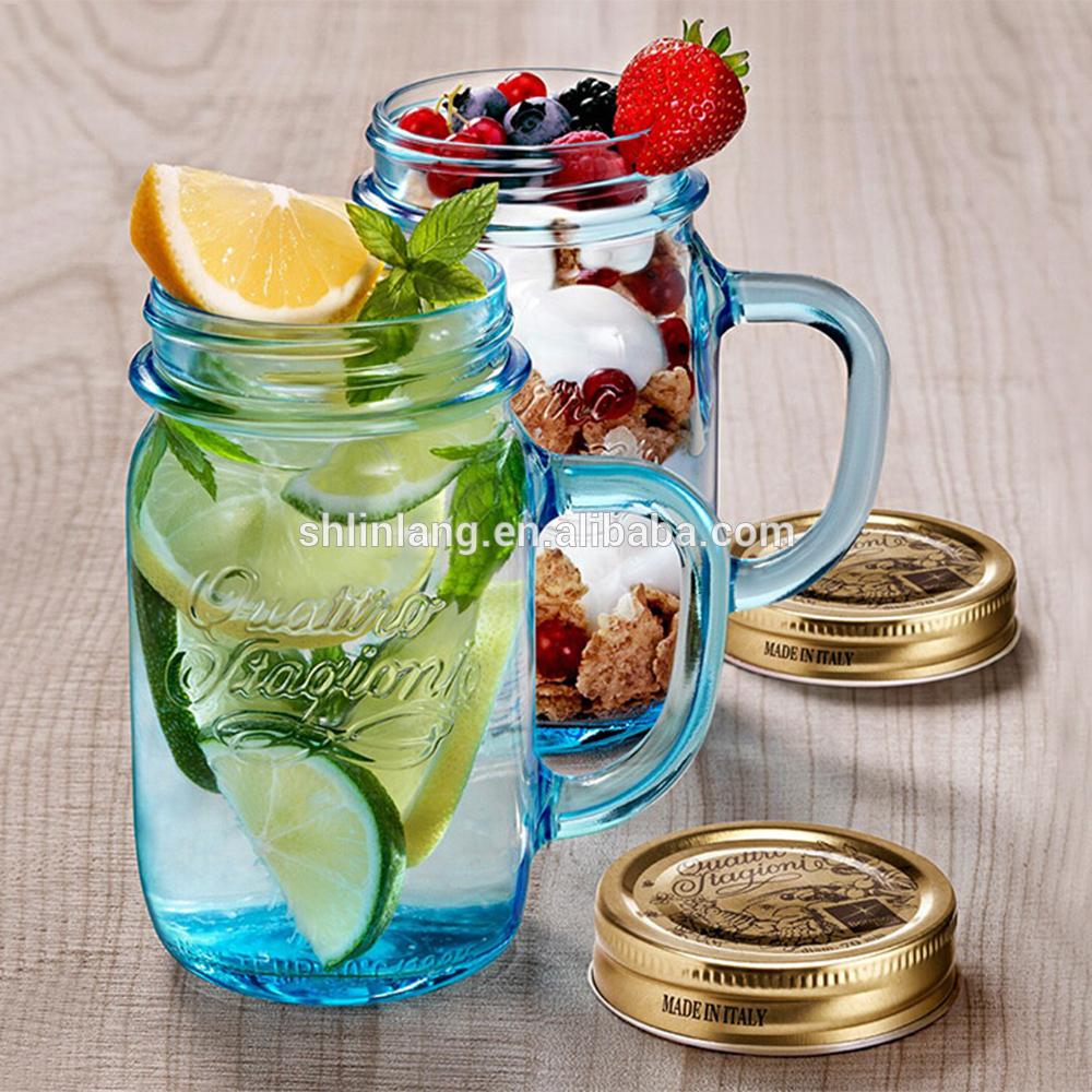 Linlang hot sale glass products mason jar
