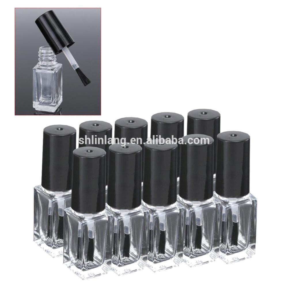 uv gel Nail Polish Oil Use glass empty bottles 10ml square shaped