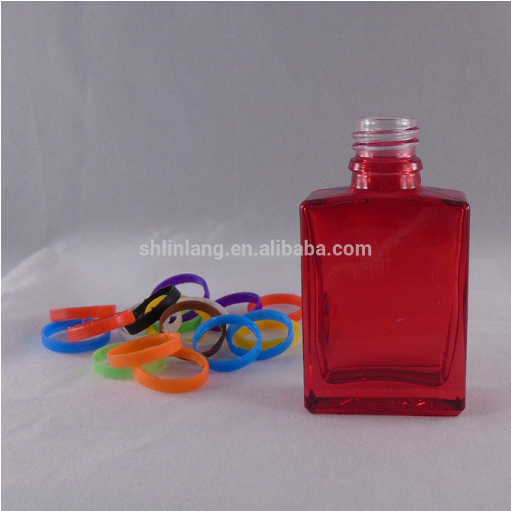 Empty Clear Electronic Cigarette Liquid Glass Bottle