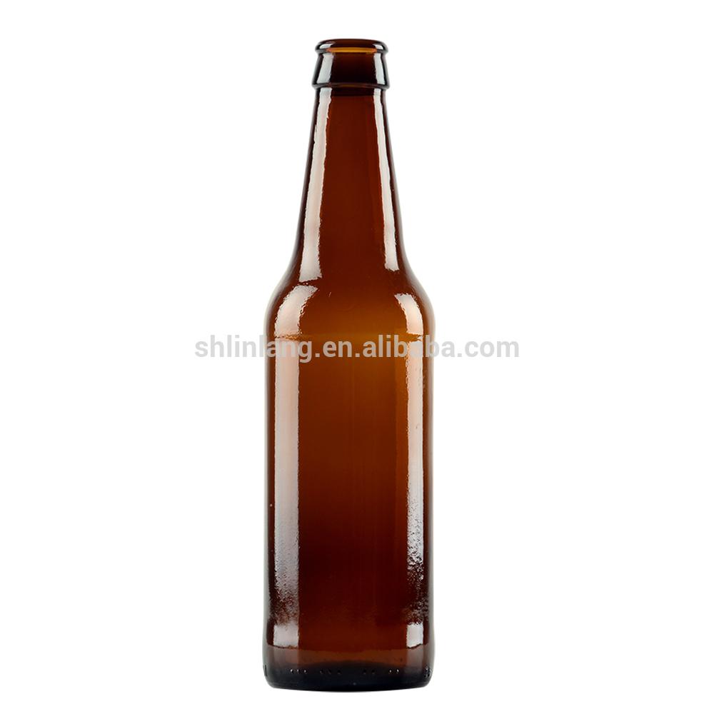 OEM manufacturer Medical Plastic Bottle Child Resistant - Shanghai Linlang wholesale long neck crown Pry off finish 355ml beer bottle – Linlang