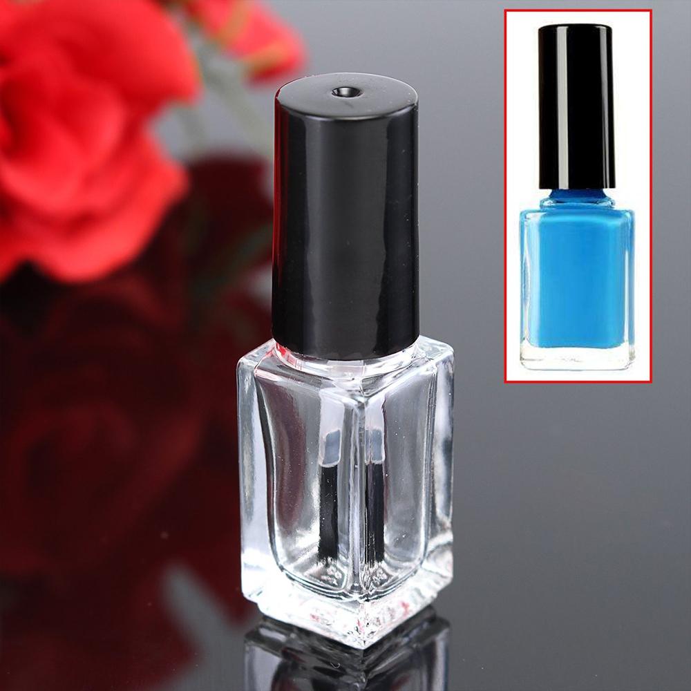 shanghai linlang unique new design gel empty glass nail polish bottle