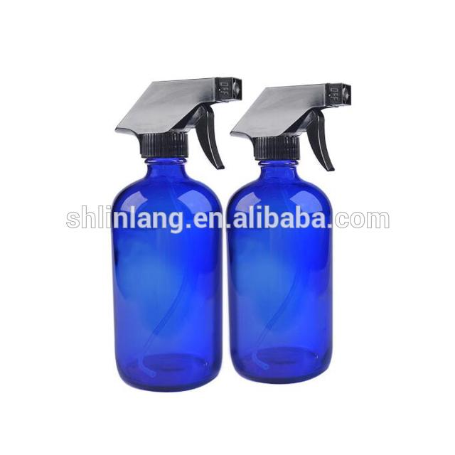 Amber pulverizatoru aerosols stikla pudele 480ml / 16oz