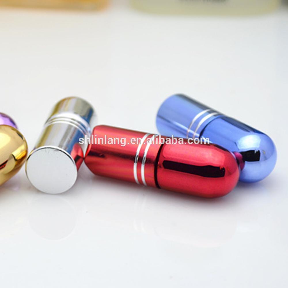 shanghai linlang alibaba best sellers Lady Cosmetics Packaging Liquid Black roll on perfume bottle glass 3ml