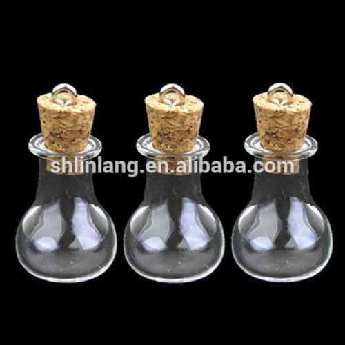 0.5 / 1/2 / 5ml Maza Tiny Caurspīdīgs stikla flakons Par Sterods Amatu Clear