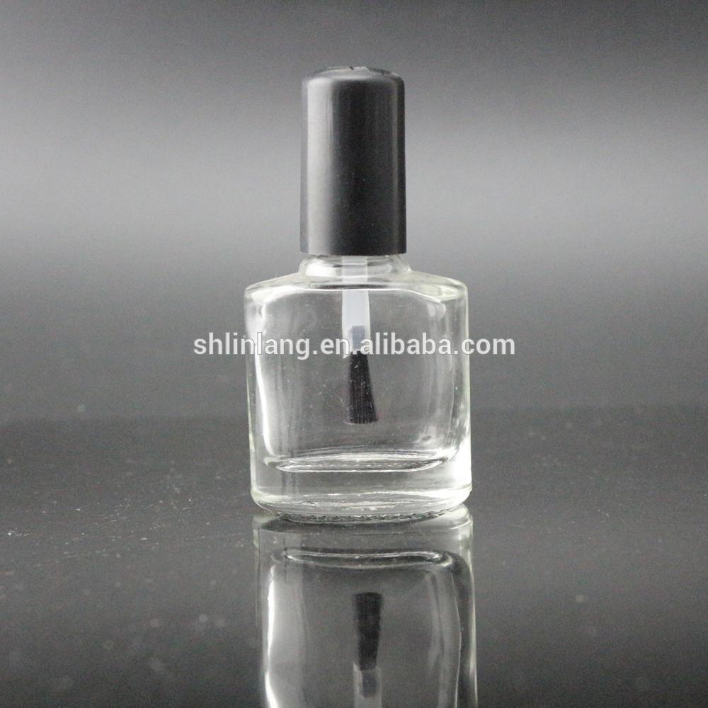 shanghai linlang custom made square shape empty glass nail polish bottles 8ml 10ml 11ml 14ml 15ml