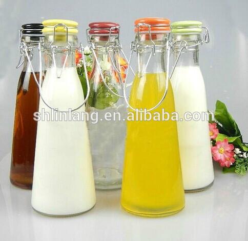 Wholesales Import 750ml glass bottle for liquid glass juice bottle