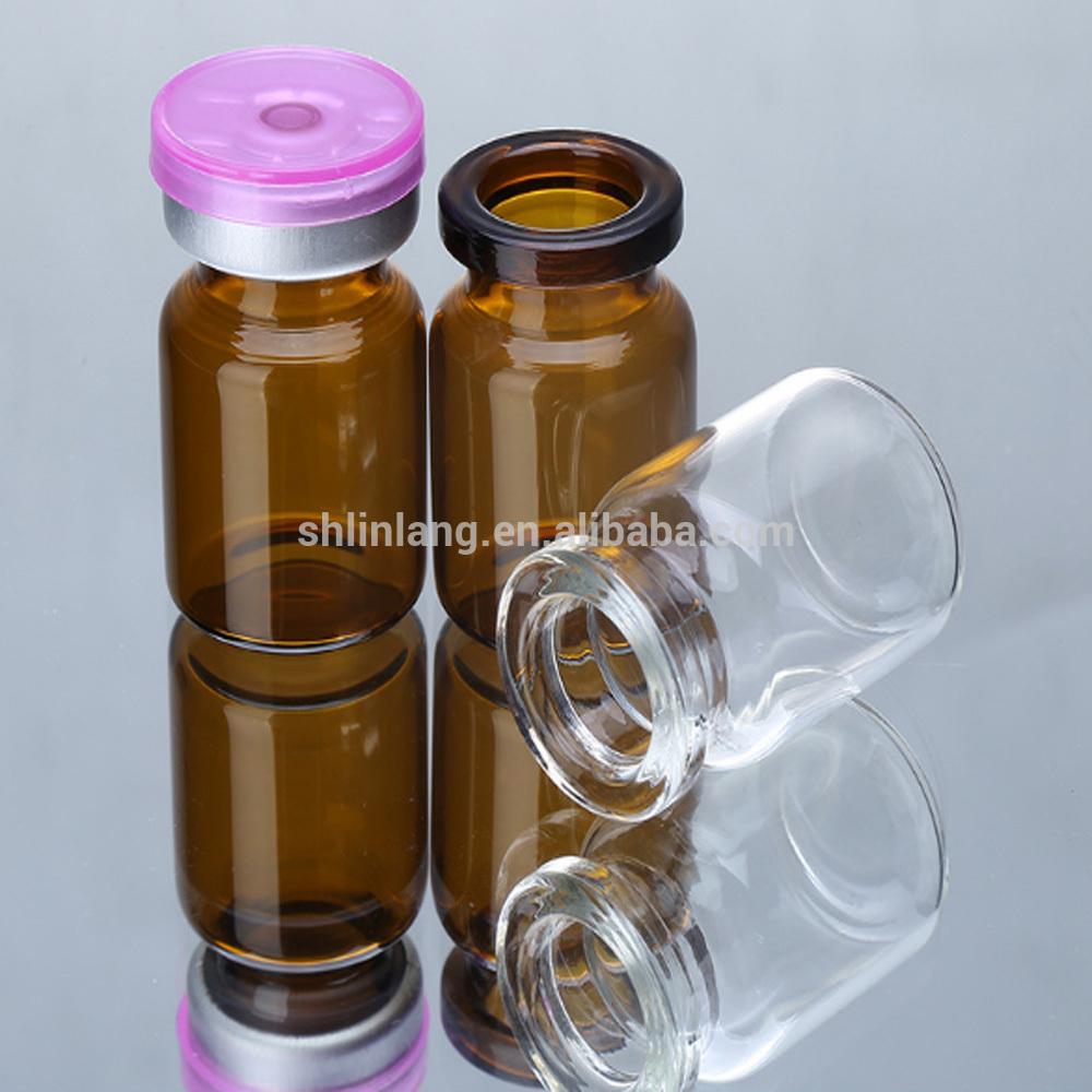 linlang stikla pudele ražošana vairumtirdzniecība export penicilīna pudele 5ml 8ml 15ml Pharmaceutical pudele