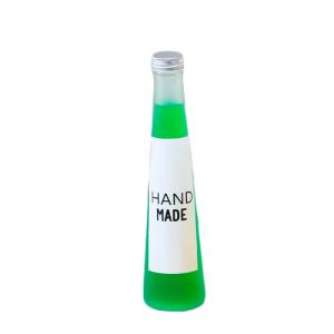 350ml/500ml glass beverage bottles wholesale/empty juice bottles wholesale