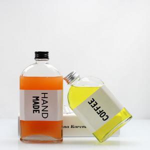 Hot Novelty Items Glass Juice Bottle Glass Beverage Bottle