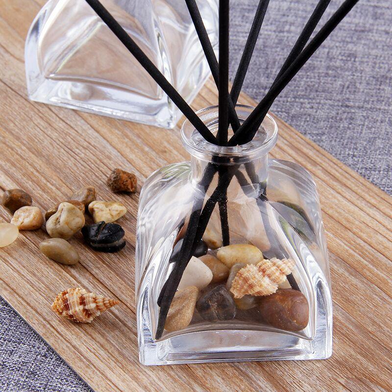 Fragrance oil glass bottle30ml 50ml 60ml 80ml 100ml 120ml 150ml 160ml 200ml luxury reed diffuser glass bottle