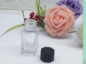 Wholesale Custom Square 30ml Empty Glass fountain pen ink bottle glass bottles for ink