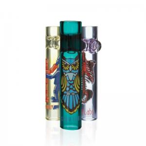 linlang shanghai hand High quality borosilicate glass dry herb tobacco somking pipe
