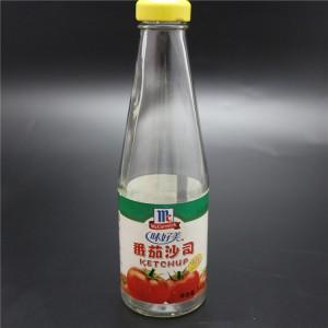shanghai factory 314ml tomato sauce bottle for ketup