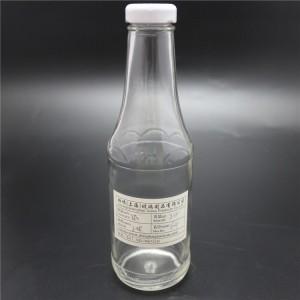 shanghai factory 350ml hot sauce glass bottle