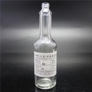 shanghai factory sale clear sauce glass bottles 62ml