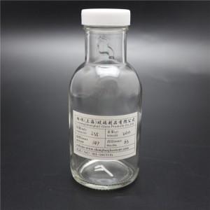 shanghai linlang factory 235ml sealable sauce bottle