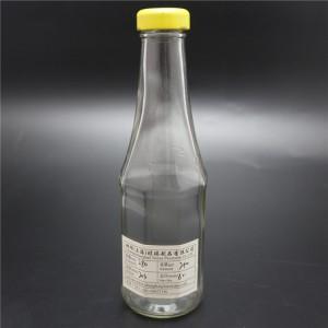 shanghai linlang factory 280ml empty chili sauce bottle